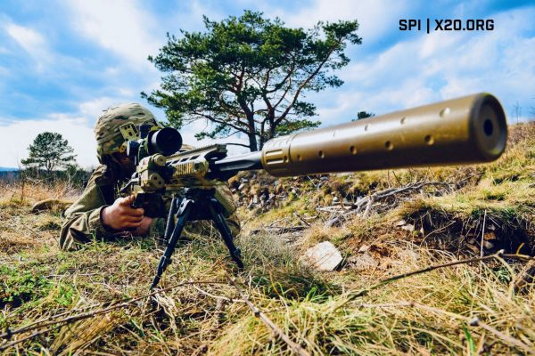 scope sniper silencer military rifle