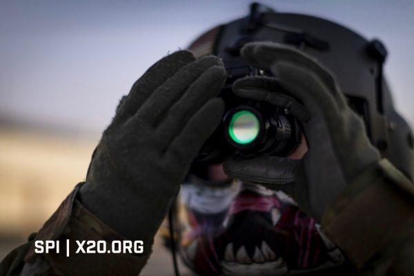 helmet mount night vision
