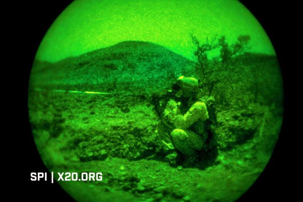 soldier night vision