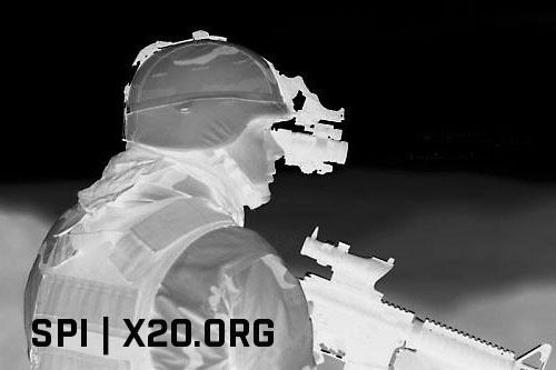 Thermal Vision white hot