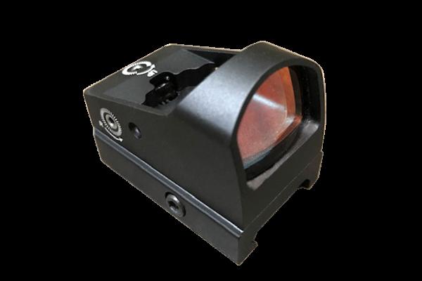 optics reticle sight adjustable red dot