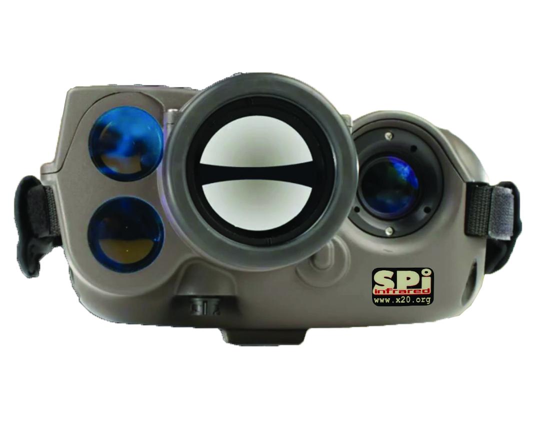 Thermal Binocular laser range finder IR hd military grade