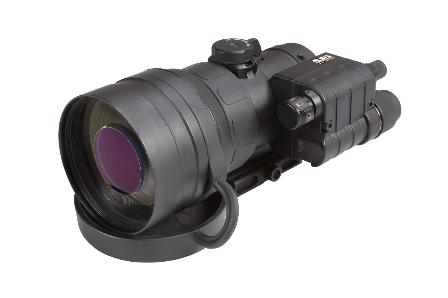 clip-on thermal scope range field of view clip on