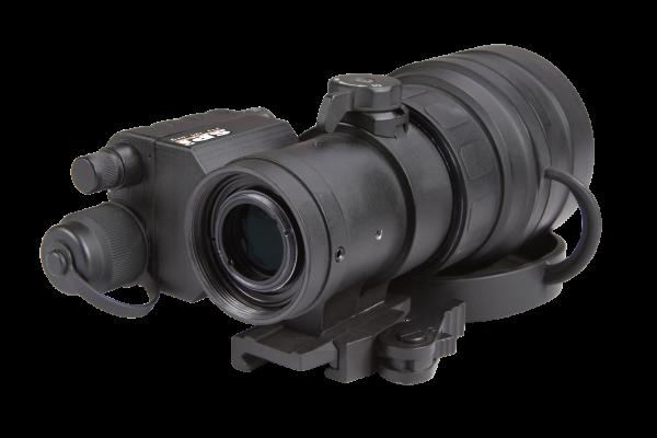 clip-on scope mount illuminator night vision military grade