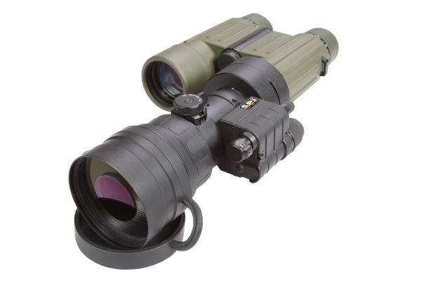 clip-on scope mount illuminator night vision military grade binocular