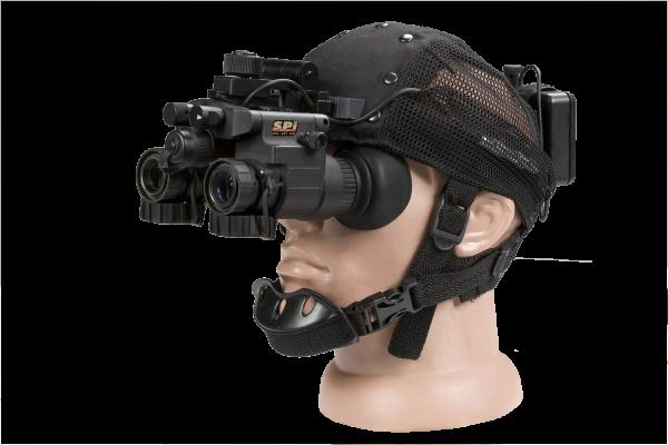 head mount power pack night vision binocular illumination military grade