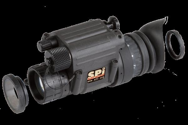 Night Vision Monocular Military Grade light compact durable range adapters