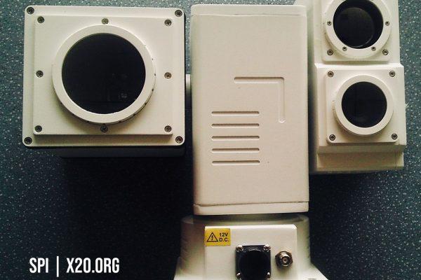 Long Range Thermal PTZ daytime camera IP