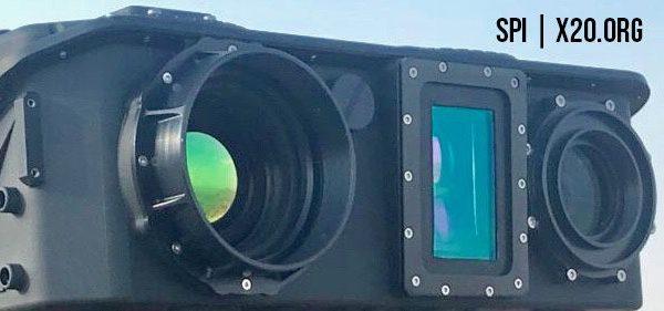 multi camera thermal HD range finder