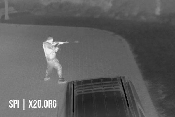 SPI White Hot Thermal image