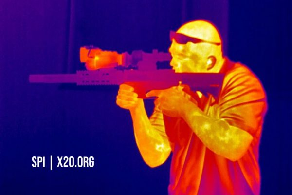 SPI color spectrum thermal image