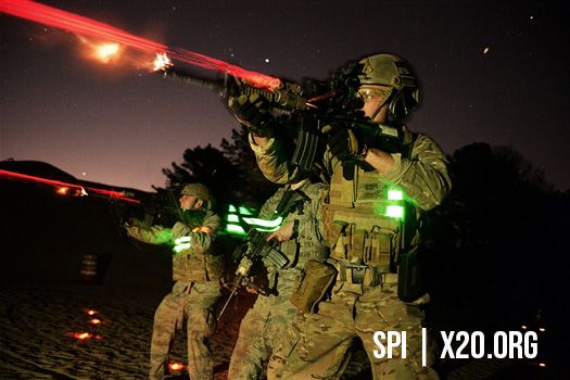 soldiers live fire laser and thermal scope SPI