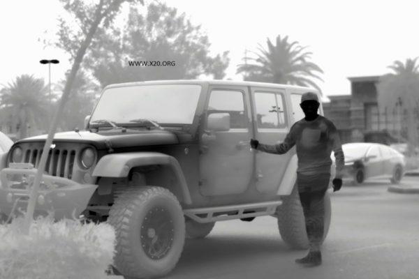 SPI Black Hot HD thermal image
