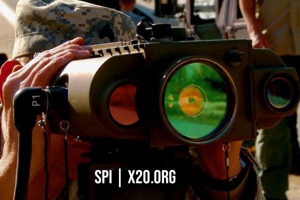 SPI Thermal imaging laser pointer and range finder