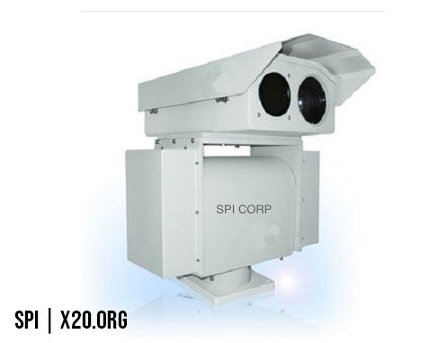 SPI PTZ thermal and daytime camera