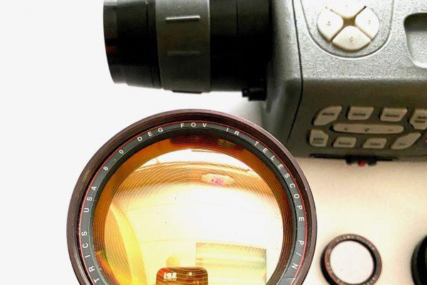 Optics for thermal imaging camera
