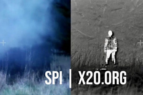 SPI hd daytime camera and thermal imaging showing ability to see through smoke