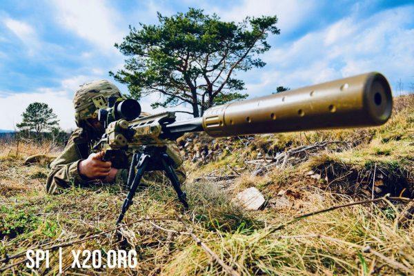 SPI sniper scopes with Range finder and laser pointer