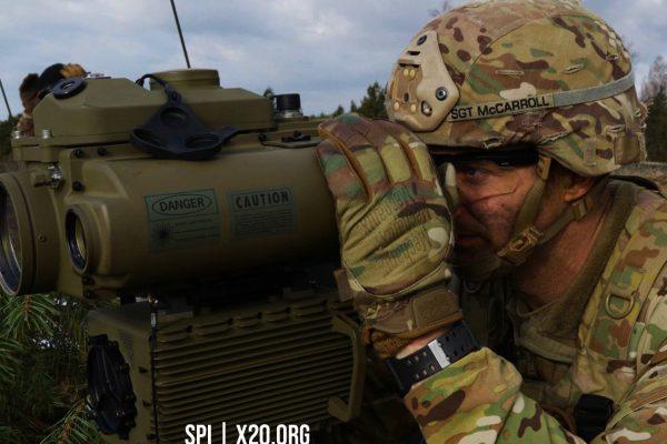 Military grade uncooled thermal vision night vision laser pointer range finder SPI