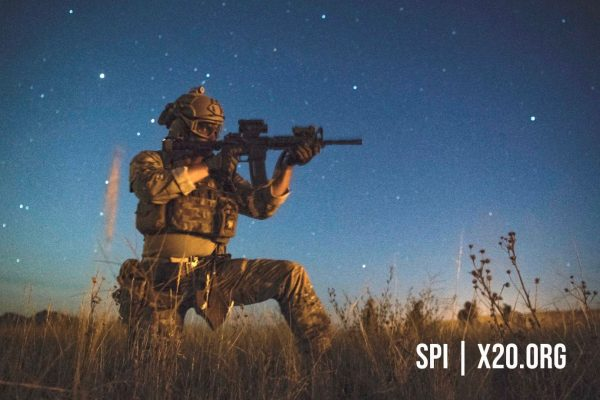 SPI weapon scopes military grade day/night scopes