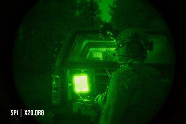 SPI helmet mounted night vision thermal vision