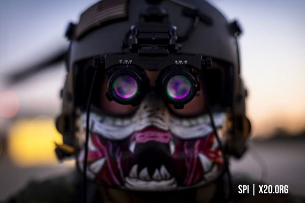 SPI helmet mounted Thermal goggles and night vision