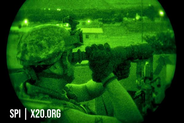 night vision scopes and helmet mounted binocular military