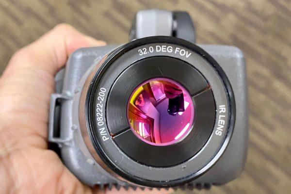 SPI optics IR lens