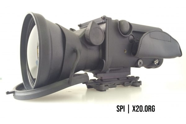 Thermal monocular scope