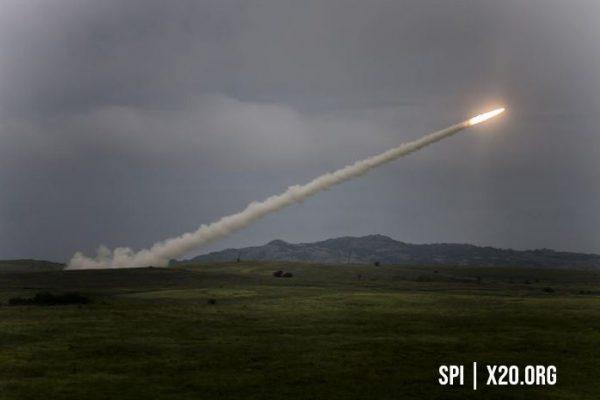 Live missile test