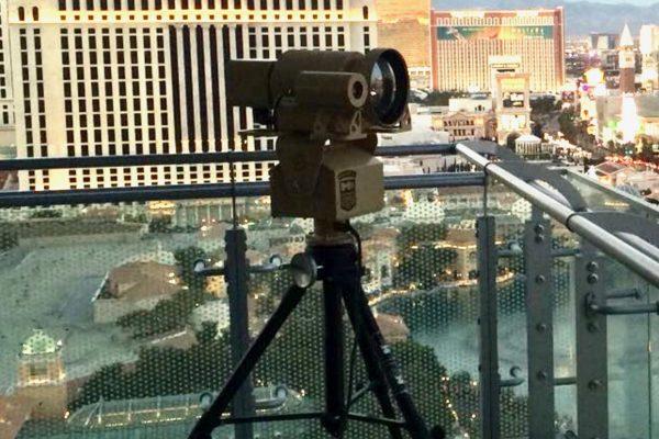 HD thermal camera with range finder SPI