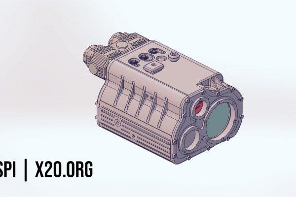 CAD Drawing for Custom night vision design SPI
