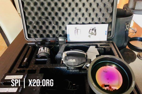 Thermal optics imaging camera SPI