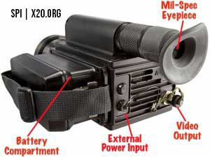 external video output Thermal Camera