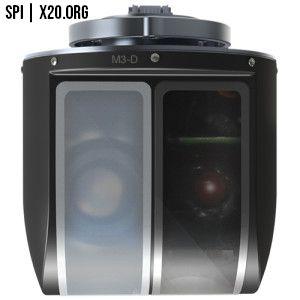 small light EO/IR gimbal thermal optical camera SPI
