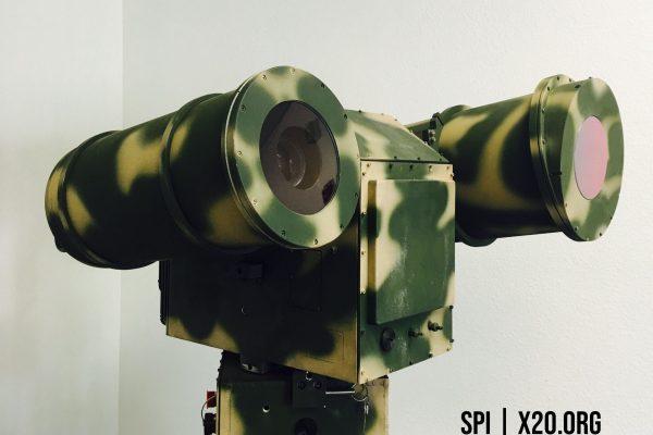 Rugged military grade PTZ Thermal day/night long range camera