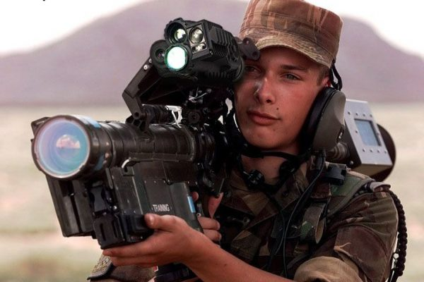 Militrary weapond scope Thermal Range finder laser
