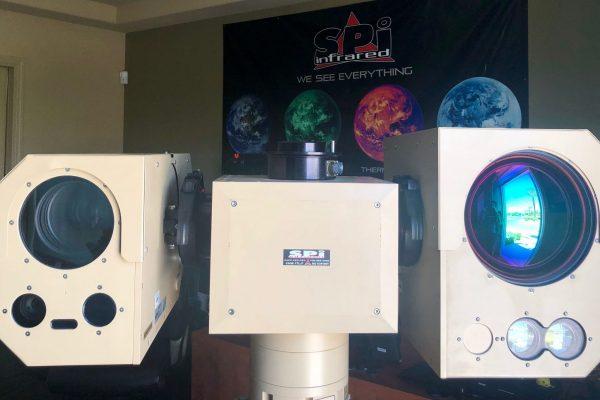 Custom hd surveilance camera long range thermal range finder IR PTZ