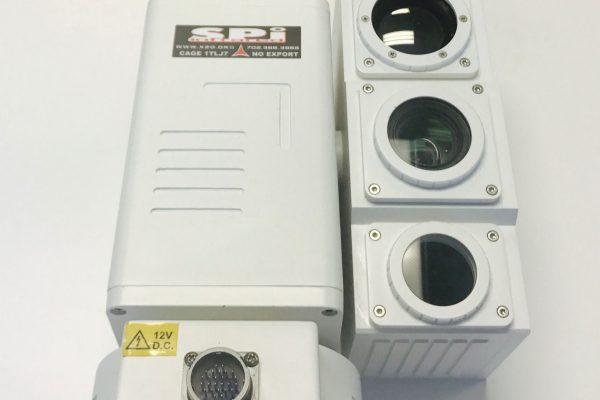 Multi camera range finder ptz thermal imaging surveillance cameras