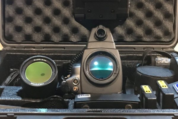 Thermal Camera with monitor pelican case batteries