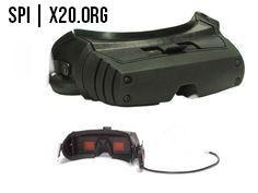 monitor goggles HD SPI