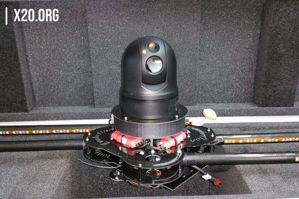 UAV PTZ compact HD Thermal Camera
