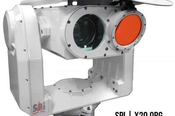 long range thermal PTZ IP dual military grade camera