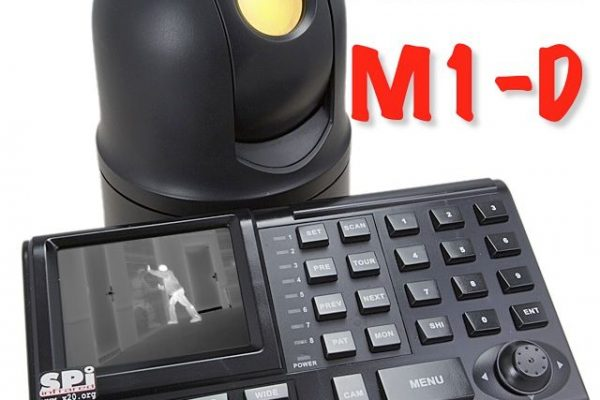 Keyboard controller analog HD PTZ UAV Thermal Camera micro compact