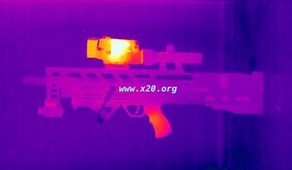 thermal weapon Scope color spectrum thermal imaging