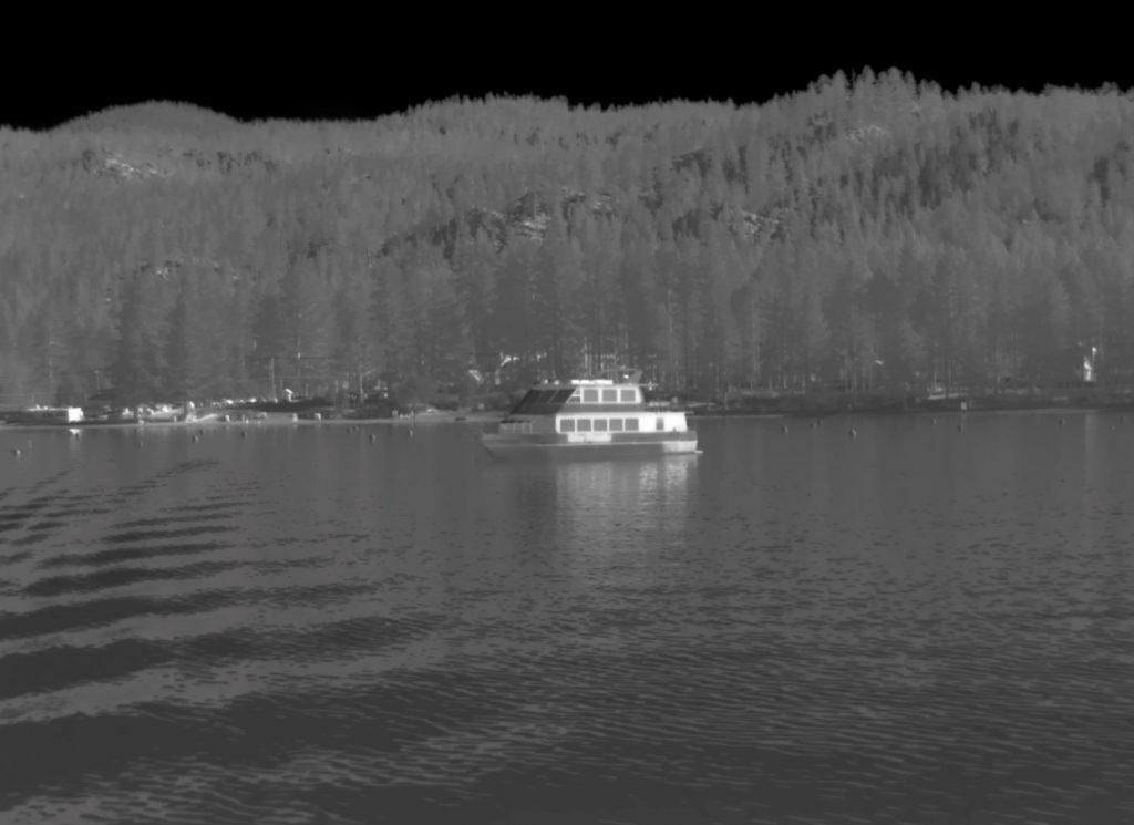 Marine boat PTZ thermal imaging flir camera