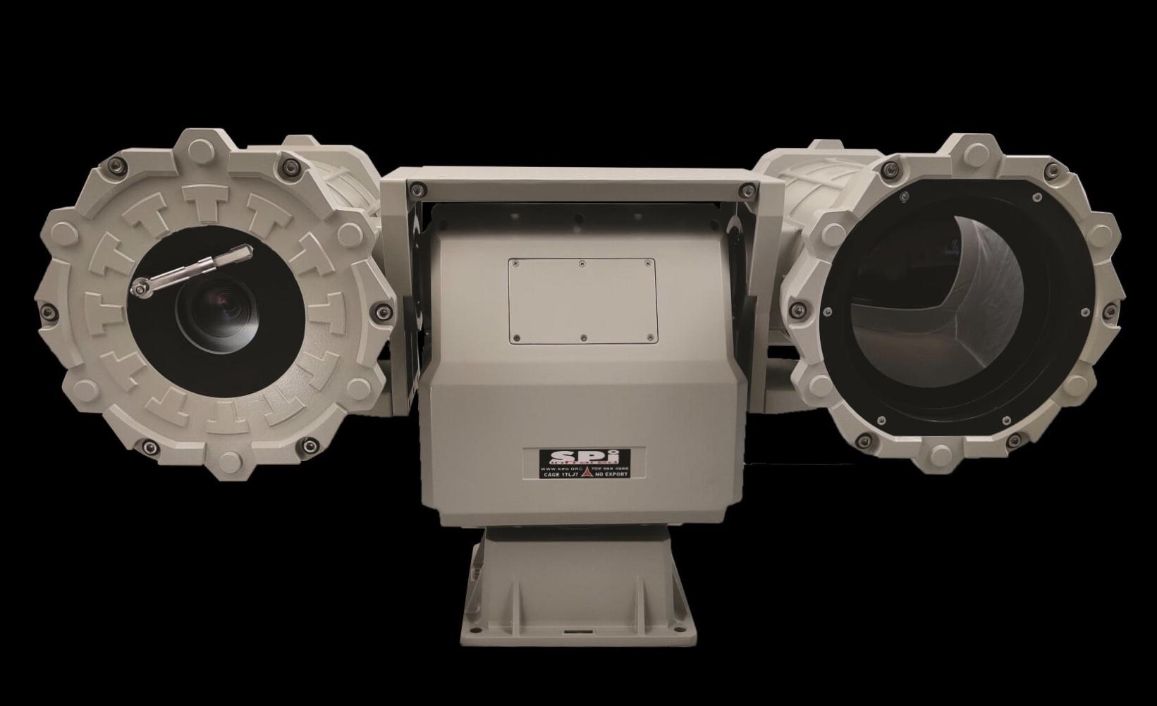 Long range thermal camera