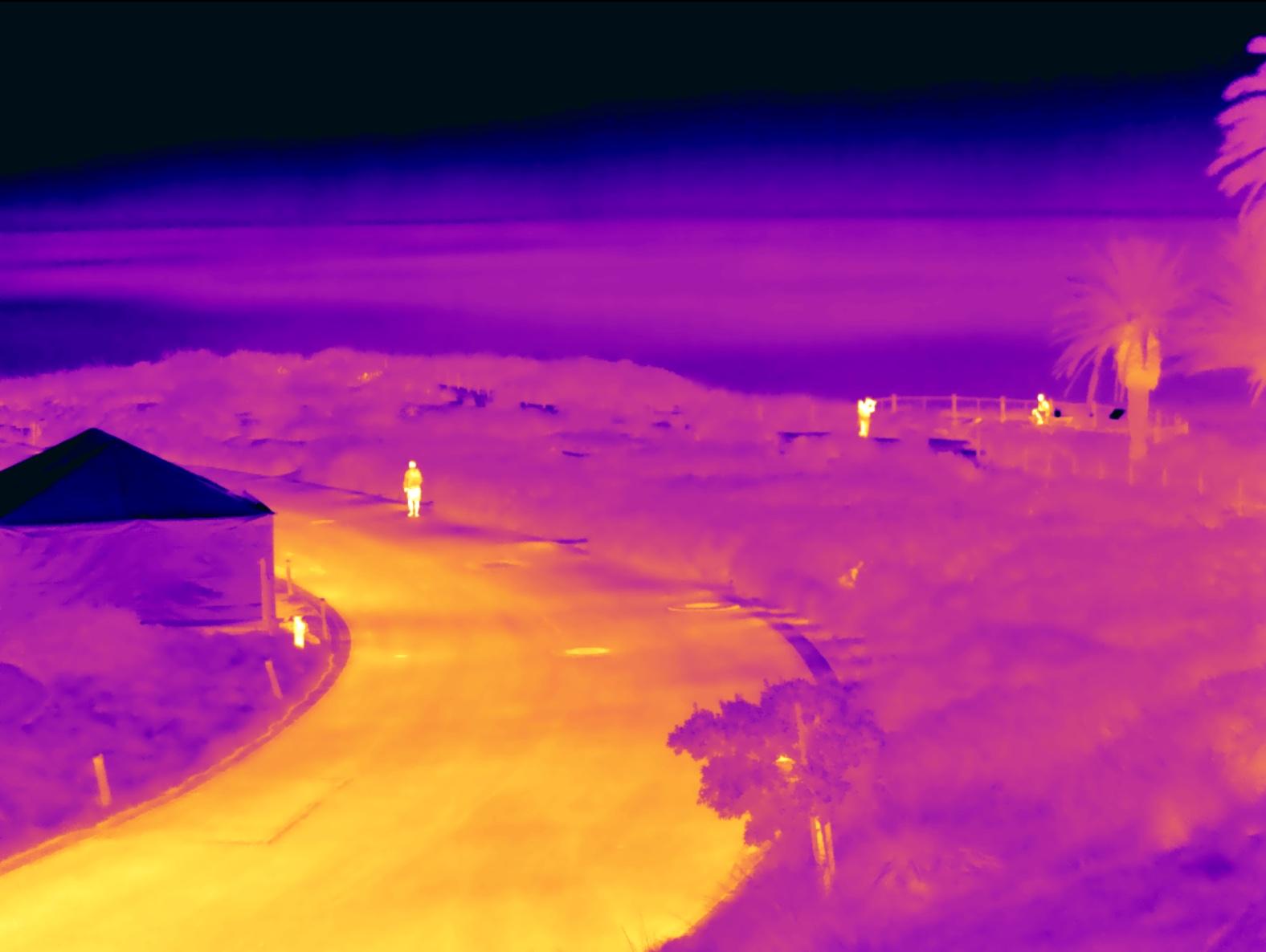 long range thermal ptz camera