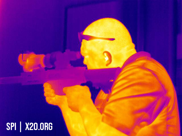 Long range thermal scopes