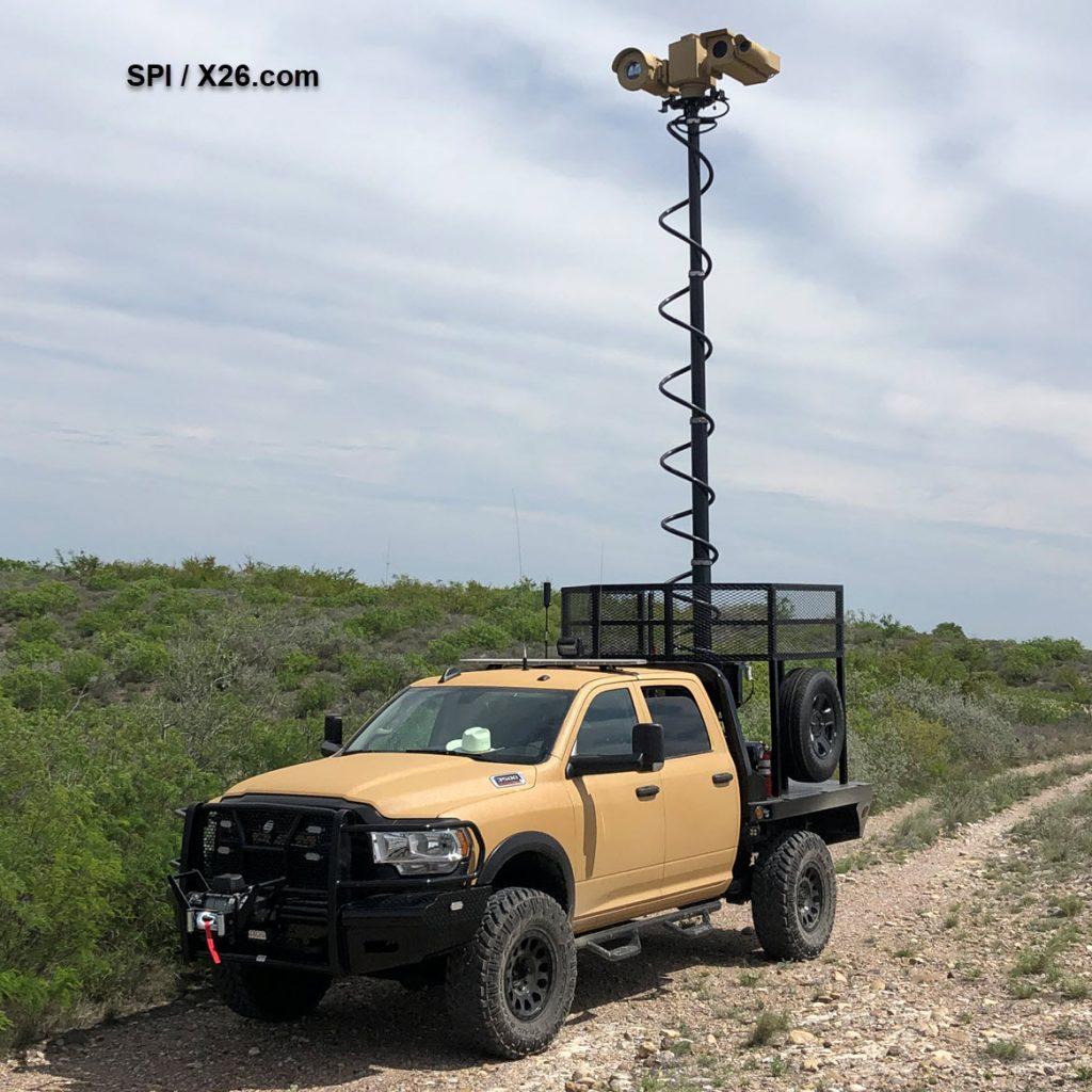 Long range thermal imaging flir PTZ camera